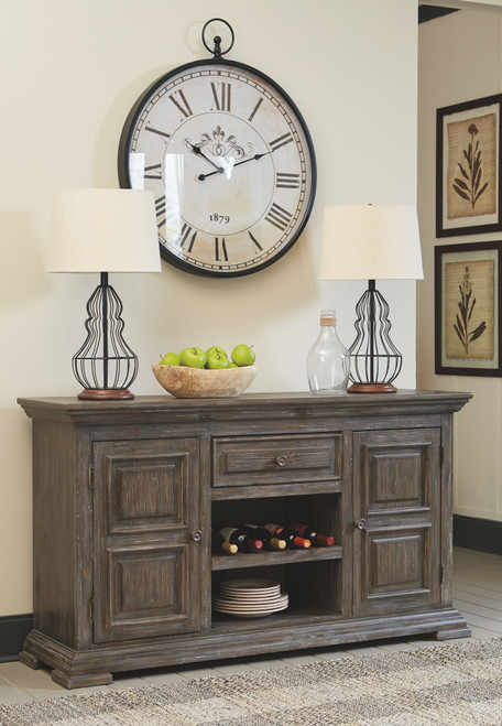 Wyndahl Rustic Brown Dining Room Server