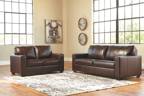 Morelos Chocolate Sofa/Couch & Loveseat