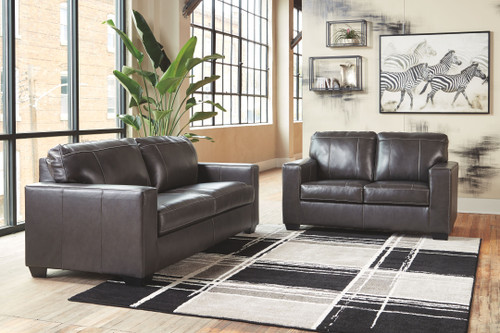 Morelos Gray Sofa/Couch & Loveseat