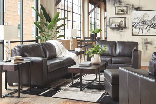 Morelos Gray Sofa/Couch, Loveseat, Chair & Ottoman