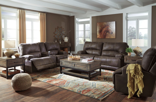 Kitching Java 2 Seat Power Reclining Sofa ADJ HDREST, Power Reclining Loveseat CON/ADJ HDRST & Wide Seat Power Recliner