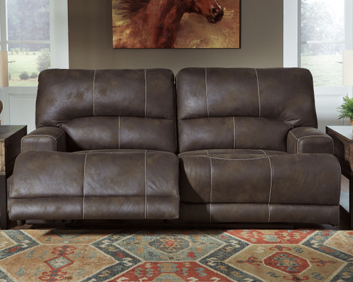 Kitching Java 2 Seat Power Reclining Sofa ADJ HDREST & Power Reclining Loveseat CON/ADJ HDRST