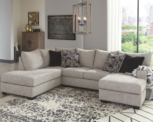 Megginson Storm LAF Corner Chaise & RAF Sofa Chaise Sectional