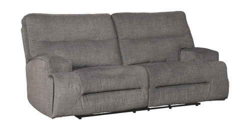Coombs Charcoal 2 Seat Reclining Sofa
