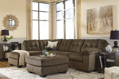 Accrington Earth 3 Pc. Left Arm Facing/Right Arm Facing Sectional