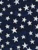 Cotton Print Yarmulkes Stars Batik - BLUE