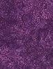 Cotton Print Yarmulkes Herb Batik - PURPLE