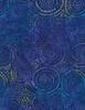 Cotton Print Yarmulkes Burst Batik - OCEAN