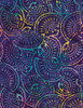 Cotton Print Yarmulkes Seashell Batik - IRIS