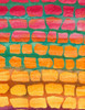 Cotton Print Yarmulkes Brick Batik - ARUBA
