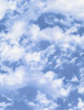 Cotton Print Yarmulkes Sky - Nature