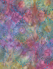 Cotton Print Yarmulkes Starburst Batik - STORM