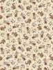 Cotton Print Yarmulkes Chipmunks - PISTACHIO