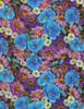 Cotton Print Yarmulkes Wild Flowers - MULTI