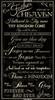 "Cotton Print Yarmulkes 24"" Lord's Prayer Panel - BLACK"