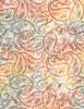 Cotton Print Yarmulkes Paisley Batik - WINE