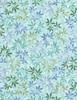 Cotton Print Yarmulkes Wildflowers - SEA