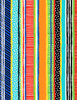 Cotton Print Yarmulkes Stripe Gail - MULTI