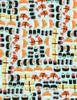 Cotton Print Yarmulkes Sushi - SUSHI