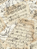 Cotton Print Yarmulkes Music Sheets - NATURAL
