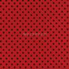Cotton Print Yarmulkes Dot - Ladybug