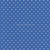 Cotton Print Yarmulkes Dot - Blue