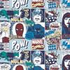 Marvel Yarmulkes Cotton - Comics Pop Comic - Blue