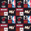 NBA Basketball Yarmulkes Cotton - Miami Heat