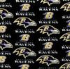 NFL Football Yarmulkes Cotton - BAR - Baltimore Ravens