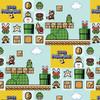 Nintendo Super Mario Yarmulkes Cotton - Super Mario Brothers 3