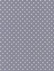 Cotton Print Yarmulkes Polka Dot Basic - SMOKE