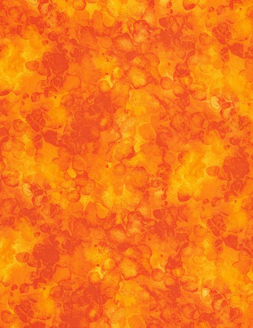Cotton Print Yarmulkes Solid-ish Watercolor Texture - SUN