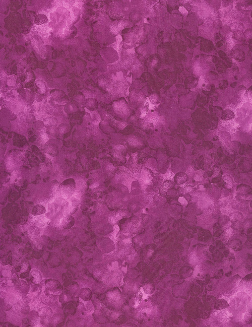 Cotton Print Yarmulkes Solid-ish Watercolor Texture - BOYSENBERRY