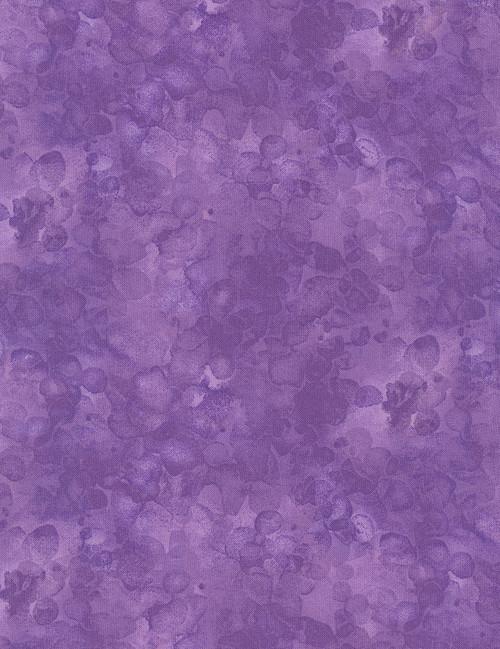 Cotton Print Yarmulkes Solid-ish Watercolor Texture - IRIS