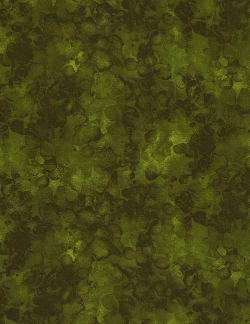 Cotton Print Yarmulkes Solid-ish Watercolor Texture - MOSS
