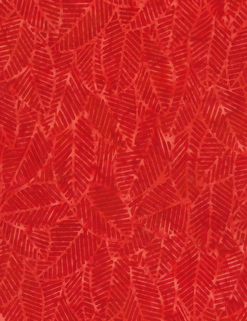 Cotton Print Yarmulkes Amazon Batik - RED