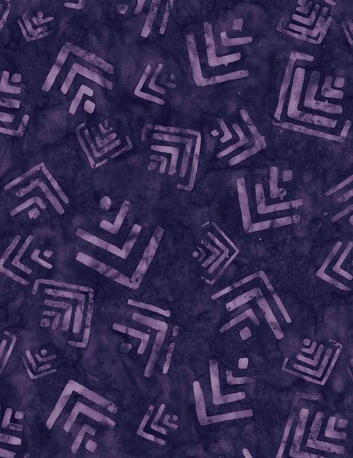 Cotton Print Yarmulkes Arrowhead Batik - GYPSY