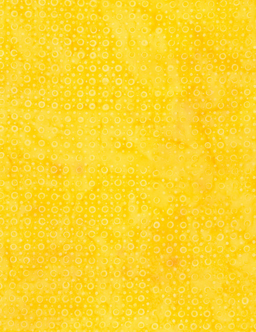 Cotton Print Yarmulkes Bubble Batik - SUN