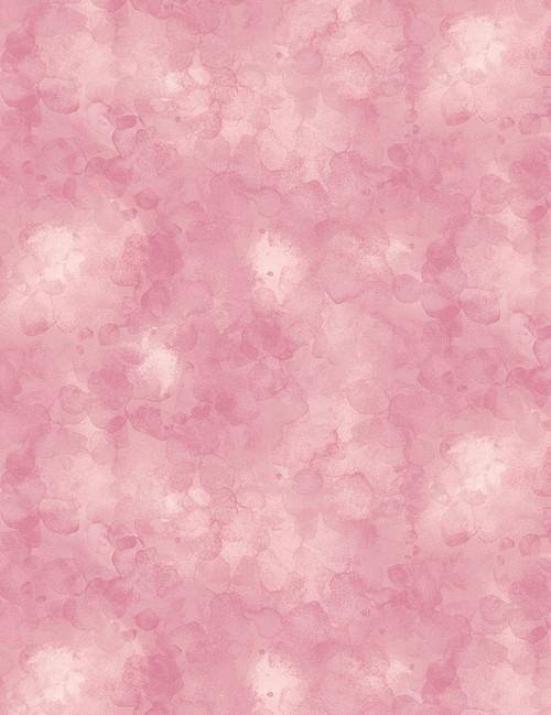 Cotton Print Yarmulkes Solid-ish Watercolor Texture - BLUSH