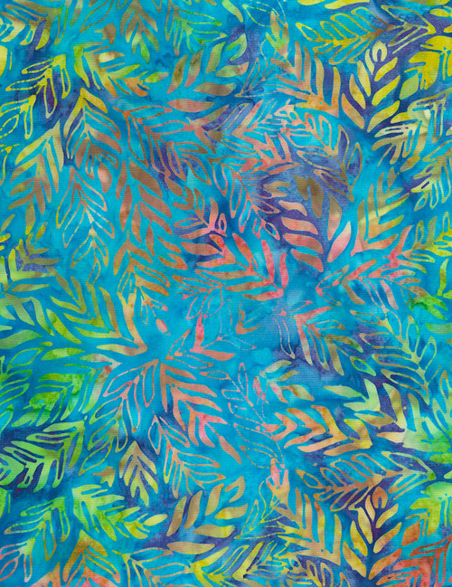 Cotton Print Yarmulkes Outback Batik - TOPIC