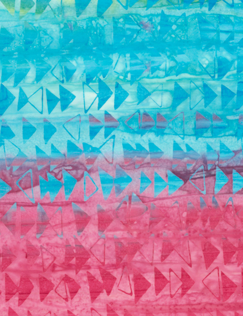 Cotton Print Yarmulkes Fast Forward Batik - VIVID