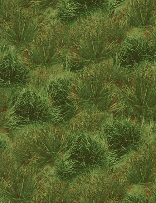 Cotton Print Yarmulkes Grass - GREEN