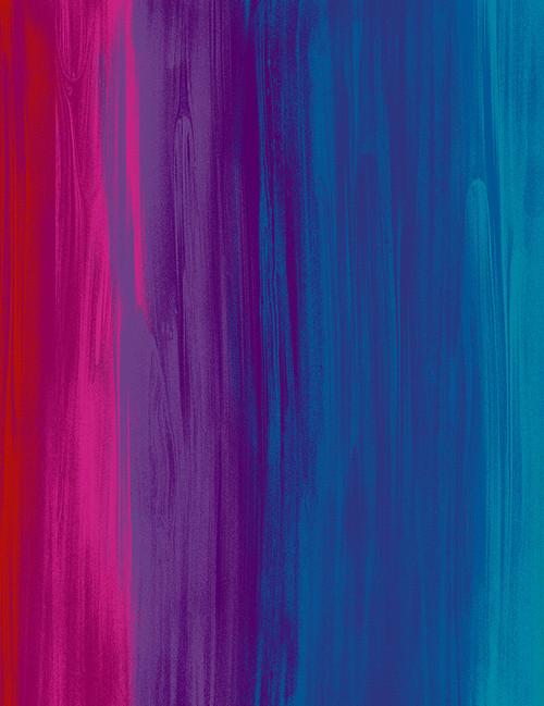 Cotton Print Yarmulkes Full Heart Rainbow Stripe - RAINBOW
