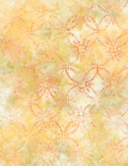 Cotton Print Yarmulkes Wedding Ring Batik - SUNRISE