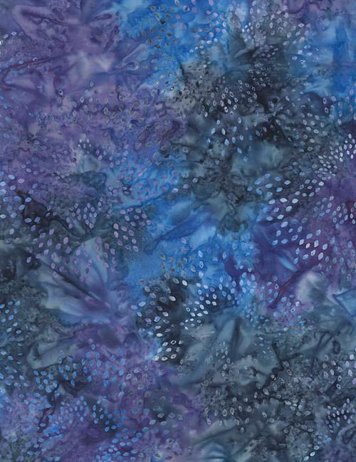 Cotton Print Yarmulkes Star Drops Batik - CELESTIAL