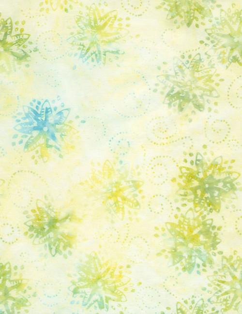 Cotton Print Yarmulkes Pinwheel Batik - FOAM