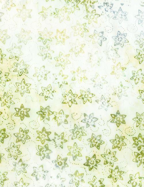 Cotton Print Yarmulkes Daffodil Batik - MIST
