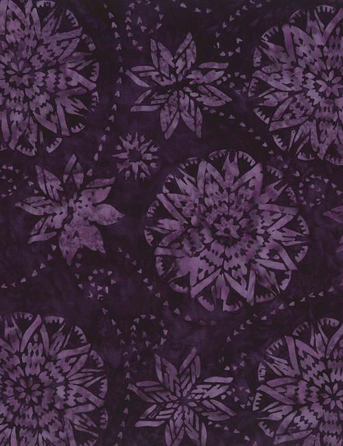 Cotton Print Yarmulkes Dream Batik - PURPLE