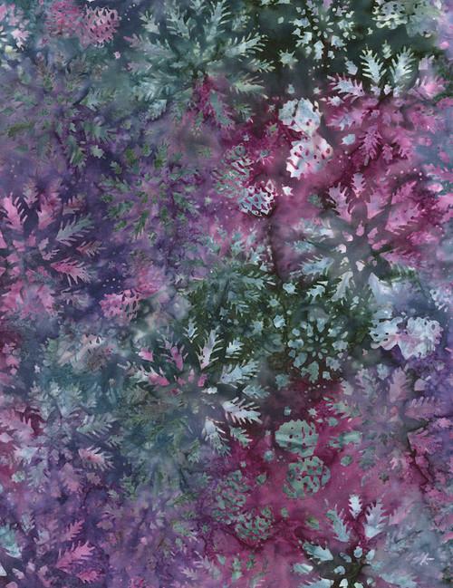 Cotton Print Yarmulkes Wintry Mix Batik - DAZZLE