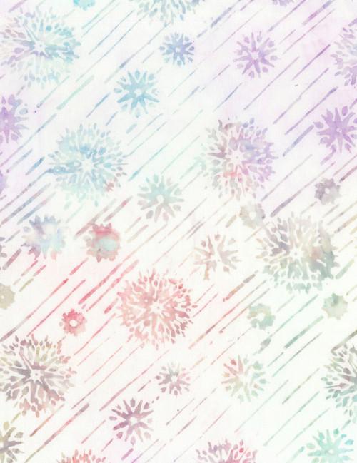 Cotton Print Yarmulkes Shooting Stars Batik - OPAL